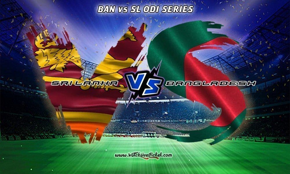BAN v SL Live Cricket Stream