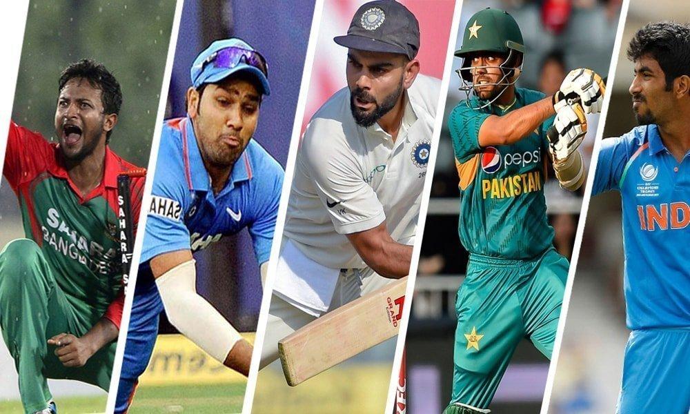 ICC ODI RANKING TOP BATSMEN TOP BOWLERS TOP ALROUNDERS