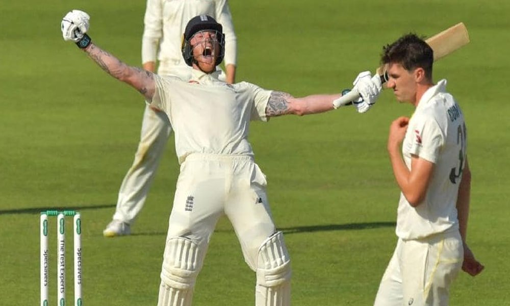 BEN STOKES WON IT FOR ENGLAND