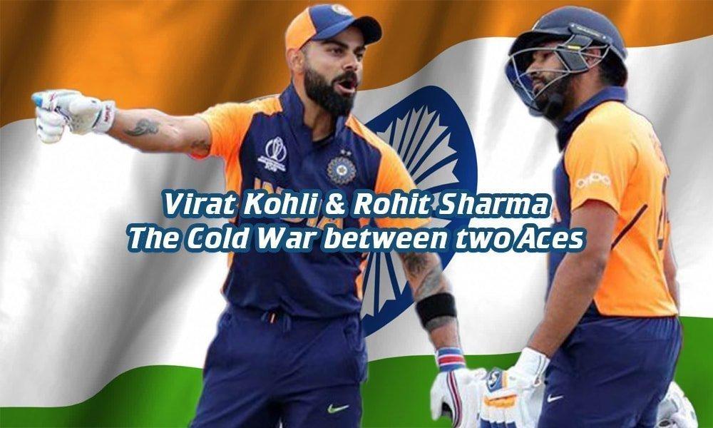 Rohit and Virat kohli rift