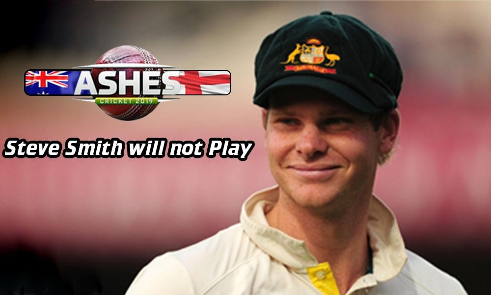 Steve Smith will not play third test of Ashes in Leeds