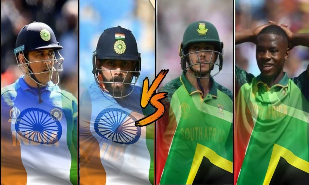 INDIA VS SOUTH AFRICA SERIES