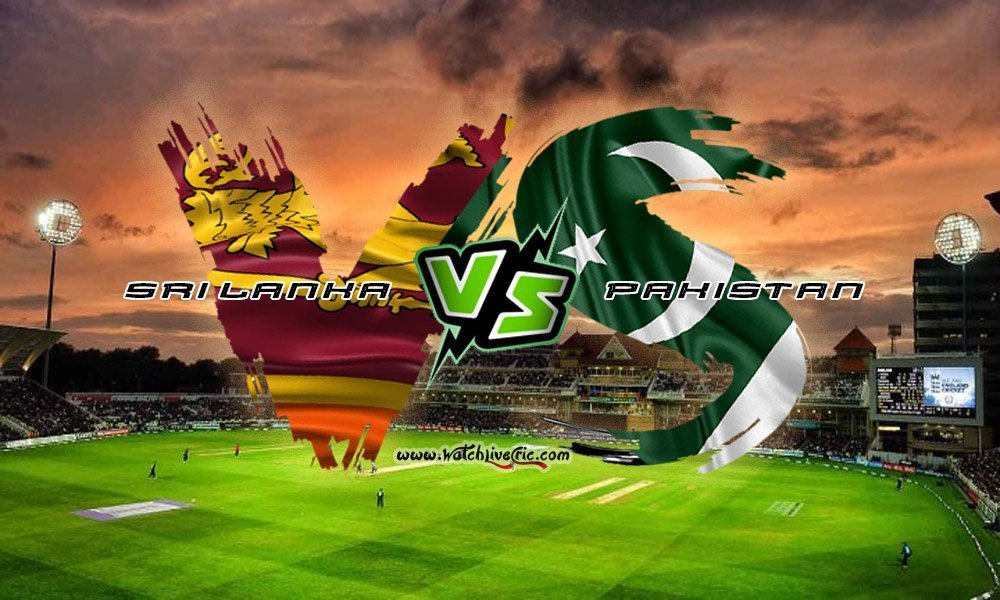 Pakistan vs Sri lanka live 2019 series